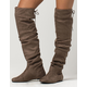 SODA Over The Knee Womens Slouch Boots