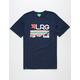 LRG Astro Stripe Mens T-Shirt