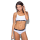 ETHIKA The White Solid PullOver Bra