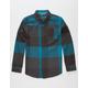 UNIVIBE Summit Boys Flannel Shirt