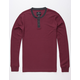 SHOUTHOUSE Henley Mens Thermal