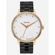 NIXON x AMUSE SOCIETY Kensington Black & Gold Watch