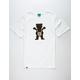 LRG x Grizzly Boss Bear Mens T-Shirt