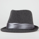 Satin Band Felt Womens Fedora