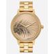 NIXON x AMUSE SOCIETY Kensington Gold Watch