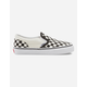 VANS Checkerboard Classic Kids Slip-On Shoes