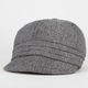 Herringbone Womens Cabbie Hat