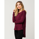 OTHERS FOLLOW Thermal Knit Womens Top