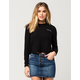 FULL TILT With Love Womens Crop Sweatshirt