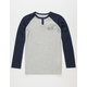 QUIKSILVER Polar Waters Boys Thermal Henley
