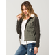FULL TILT Twill Knit Womens Jacket