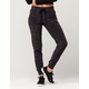 ALMOST FAMOUS Space Dye Womens Velour Jogger Pants