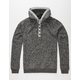 BROOKLYN CLOTH Matterhorn Mens Henley Hoodie