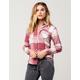 FULL TILT Blush Womens Flannel Shirt