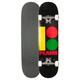 PLAN B Team B Rasta Full Complete Skateboard