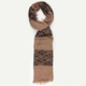 Lace Panel Scarf
