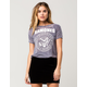 RAMONES Burnout Womens Crop Tee