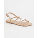 BAMBOO Knotted Womens Sandals