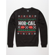 NOR CAL Ugly Sweater Mens Sweatshirt