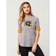 NFL Steelers Womens Raglan Tee