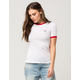 RIOT SOCIETY Not You Womens Ringer Tee