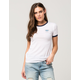 RIOT SOCIETY Give Me Space Womens Ringer Tee
