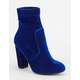 YOKI Velvet Womens Booties