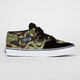 VANS Camo Half Cab Mens Shoes
