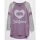 FULL TILT Cali Bear Girls Varsity Tee