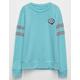 FULL TILT Nope Bubble Girls Varsity Sweatshirt