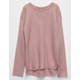 WOVEN HEART Pullover Girls Sweater