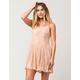FULL TILT Lace Fit Flare Dress