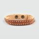 FULL TILT 2 Row Studded Faux Leather Bracelet