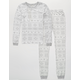 COSMIC LOVE Fairisle Girls Pajama Set