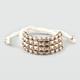 FULL TILT Pyramid Stud Braid Bracelet