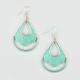 FULL TILT Patina Teardrop Earrings