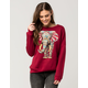 RIOT SOCIETY Ornate Elephant Womens Sweatshirt