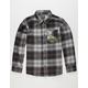 NIKE SB Plaid Boys Flannel Shirt