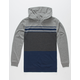 SHOUTHOUSE Divided Lines Boys Lightweight Hoodie