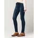 ALMOST FAMOUS PREMIUM Zip Pocket Womens Skinny Jeans