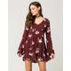 FULL TILT Fit And Flare Floral Dress
