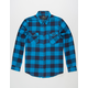 SHOUTHOUSE Bill Mens Flannel Shirt