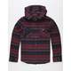 VALOR Cabo Nights Boys Hooded Flannel Shirt