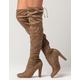 YOKI Over The Knee Womens Heeled Boots