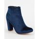 LILIANA Velvet Womens Mod Boots