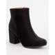 QUPID Velvet Womens Mod Boots