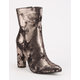 CAPE ROBBIN Mid Height Womens Mod Boots