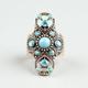 FULL TILT Filigree Stone/Bead Ring