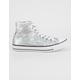 CONVERSE Chuck Taylor All Star Hi Sequin Womens Shoes