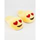 Heart Eyes Emoji Slippers